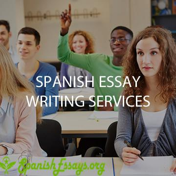 Quality  Spanish essay writing services